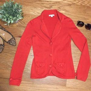 Banana Republic factory sweater blazer jacket